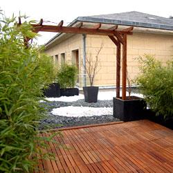 Espaces Verts et Jardins, professionnels de la terrasse
