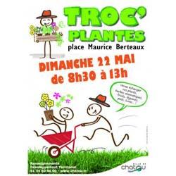 Troc'plantes à Chatou le 22 mai 2016