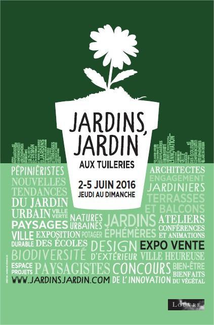 Jardins Jardin 2016 aux Tuileries