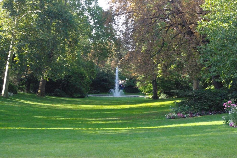 Visitez les jardins de l'Élysée !